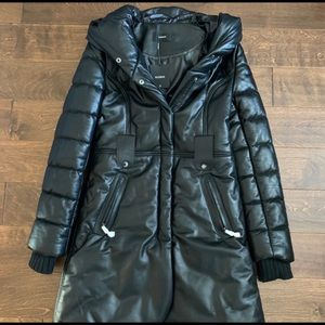 NWT Rudsak Leather winter coat size medium